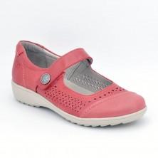 Zapato Especial Plantilla Piel Rojo