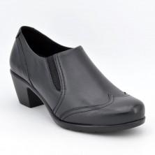5351 - Suave Zapato tacón negro