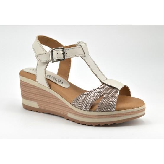 D'garry Comprar Zapatos Sandalia Mujer Hielo Plataforma Piel Online OkZPXiuT