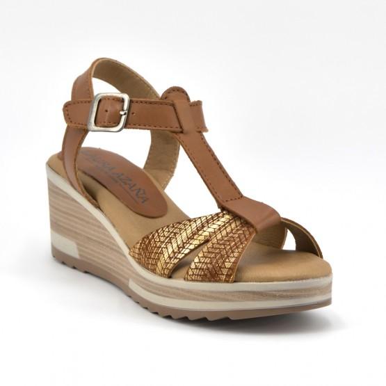 7bd905b4d1 Comprar Sandalia Plataforma Mujer Piel Cuero online - Zapatos D Garry