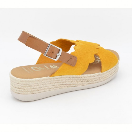 4682 - Oh Sandals Sandalia Piel Mostaza