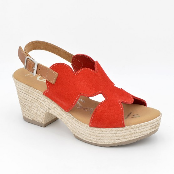 4698 - Oh Sandals Sandalia Piel Rojo