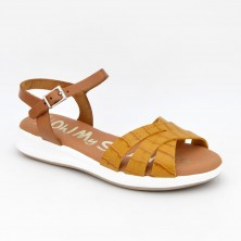 4660 - Oh Sandals Sandalia anatómica Piel Mostaza