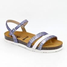 565080 - Plakton Sandalia Piel Azul