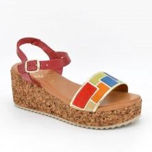 54082 - Marila Sandalia Piel Multicolor