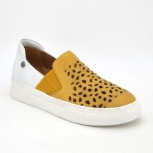20522 - Top3 Zapato Piel Dorado