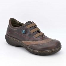 11861 - Laura Azaña Zapato elásticos piel Marrón