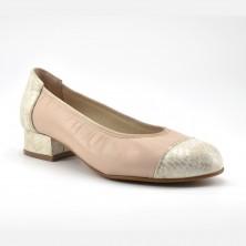 Zapato  Tacón Mujer Piel Hielo
