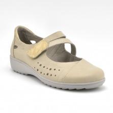 Zapato Especial Plantillas Mujer Piel Beig